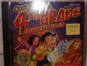 Clue Finders Adventures! Grade 4 CD for computer.  ***INCLUDES SHIPPING***
