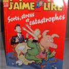 "French Cartoon comic language Book homeschool ""J'aime Lire"" ages 7-12  INCLUDES SHIPPING"