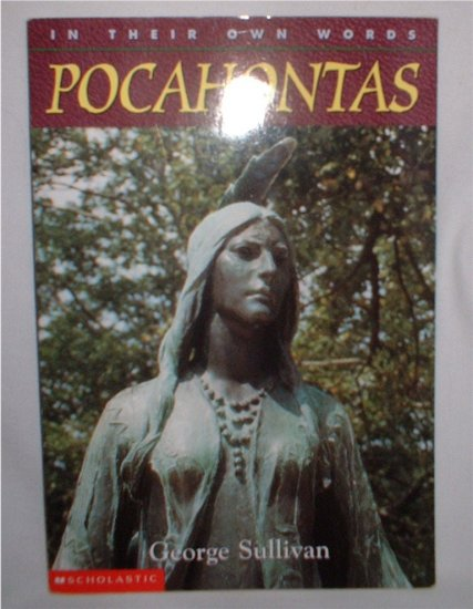 In Their Own Words: Pocahontas  softcover book   INCLUDES SHIPPING!!