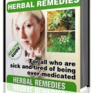 47 Simple Herbal Remedies   ebook  FREE SHIPPING only $1.00 international!