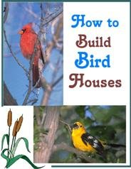 eBook How to Build Birdhouses  eBook only $1.00 Free shipping international!