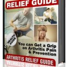 eBook Arthritis Relief Guide  eBook ONLY$1.00!