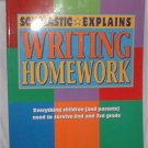 Scholastic Explains WRITING HOMEWORK For Grades 2 & 3  $5.00/INCLUDES SHIPPING!