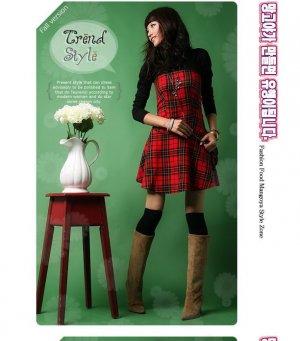 Goth/Rock Red dress