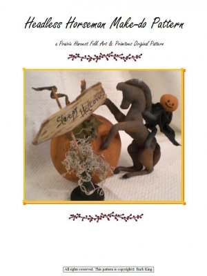 Primitive Headless Horseman Make-do E-Pattern pdf