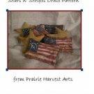 Primitive Americana Stars n' Stripes Ornies E-pattern, pdf