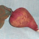 Primitive Folk Art Beet Ornies. Bowl Fillers