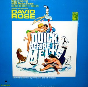 Quick, Before It Melts - Original Soundtrack, David Rose OST LP/CD