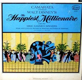 Camarata conducts The Happiest Millionaire - Walt Disney Soundtrack LP/CD