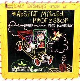 The Absent Minded Professor - Walt Disney Story Soundtrack LP/CD