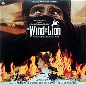 The Wind And The Lion - Original Soundtrack, Jerry Goldsmith OST LP/CD