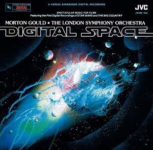 Digital Space - Morton Gould Soundtrack, Japanese Import LP/CD