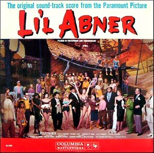 Li'l Abner (1959) - Original Film Soundtrack, Peter Palmer OST LP/CD Lil