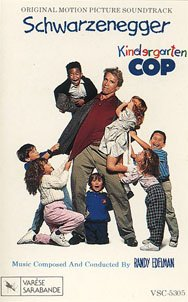 Kindergarten Cop - Original Soundtrack, Randy Edelman OST Tape/CD