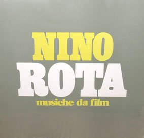 Nino Rota - Musiche da Film, Italian import Film Music LP/CD