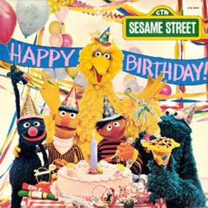 Happy Birthday From Sesame Street - Original TV Soundtrack LP/CD