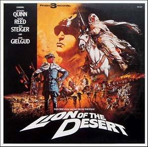 Lion Of The Desert - Original Soundtrack, Maurice Jarre OST LP/CD