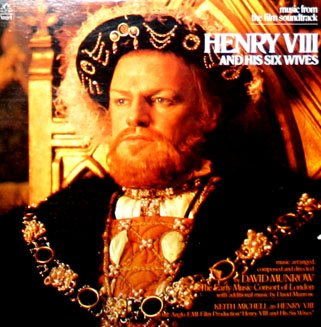 Henry VIII And His Six Wives - Original Soundtrack, David Munrow OST LP/CD