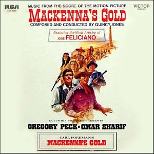 MacKenna's Gold - Original Soundtrack, Quincy Jones OST LP/CD
