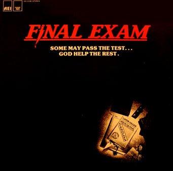 Final Exam - Original Soundtrack, Gary Scott OST LP/CD