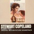 Rumble Fish - Original Soundtrack, Stewart Copeland OST Tape/CD