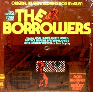 The Borrowers (1974) - Original TV Soundtrack, Rod McKuen OST LP/CD