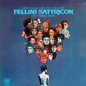 Fellini Satyricon - Original Soundtrack, Nino Rota OST LP/CD
