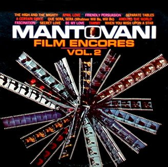 Mantovani Film Encores Volume 2 - Soundtrack Collection LP/CD