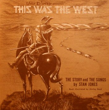 Walt Disney's This Was The West - Original Soundtrack, Stan Jones OST LP/CD
