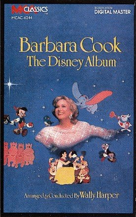 The Disney Album - Barbara Cook sings Disney music Tape/CD