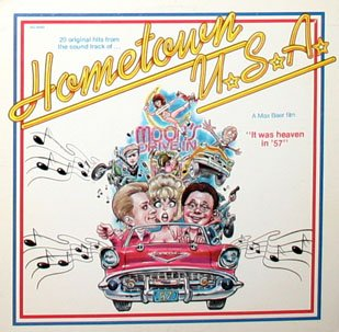 Hometown U.S.A. - Original Soundtrack, Little Richard OST LP/CD USA