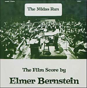 The Midas Run - Original Soundtrack, Elmer Bernstein OST LP/CD