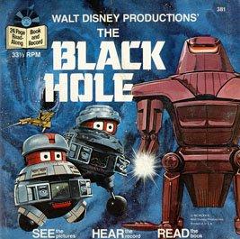 Walt Disney's The Black Hole - See-Hear-Read Soundtrack & Book EP/CD