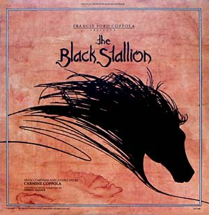 The Black Stallion - Original Soundtrack, Carmine Coppola & Shirley Walker OST LP/CD