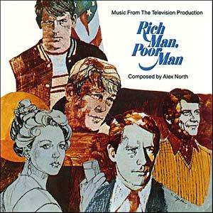 Rich Man, Poor Man - Original TV Soundtrack, Alex North OST LP/CD