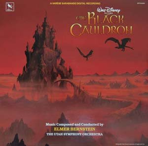 The Black Cauldron - Original Score, Elmer Bernstein OST LP/CD Disney Soundtrack