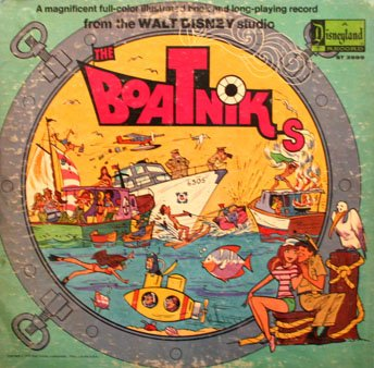 The Boatniks (1970) - Walt Disney Studios Story Soundtrack LP/CD