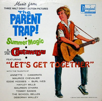 The Parent Trap / In Search Of Castaways / Summer Magic - Walt Disney Soundtrack Collection LP/CD