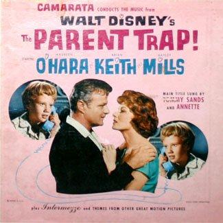 The Parent Trap - Original Walt Disney Soundtrack, Sherman Brothers & Camarata OST LP/CD