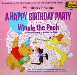 A Happy Birthday Party With Winnie The Pooh - Walt Disney Soundtrack LP/CD