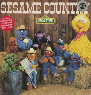 Sesame Country - Original Sesame Street Soundtrack LP/CD