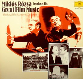 Miklos Rozsa Conducts His Great Film Music - Import Soundtrack Collection LP/CD