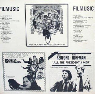 Filmusic - Original Motion Picture Soundtracks, Movie Music Collection LP/CD