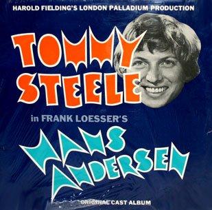 Hans Anderson - Original Cast Recording Soundtrack, Tommy Steele OST LP/CD