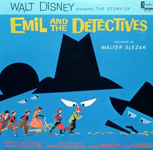 Emil And The Detectives - Walt Disney Story Soundtrack LP/CD