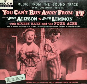You Can't Run Away From It - Original Soundtrack, Jack Lemmon & June Allyson OST LP/CD