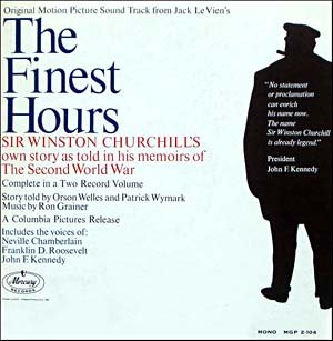 The Finest Hours - Original Soundtrack, Ron Grainer OST LP/CD