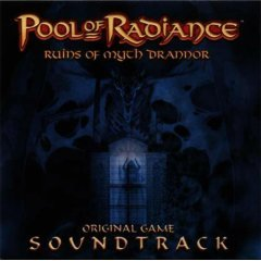 Pool Of Radiance, Ruins of Myth Drannor - Original Soundtrack (CD 2001) Video Game Music