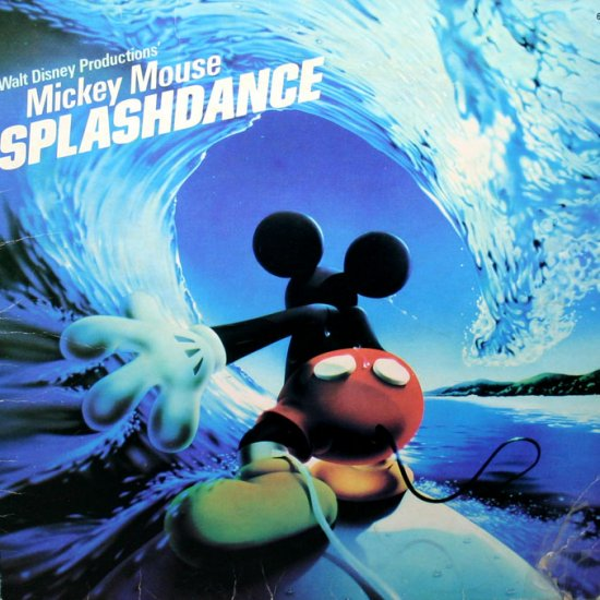 mickey mouse splashdance walt disney soundtrack lpcd