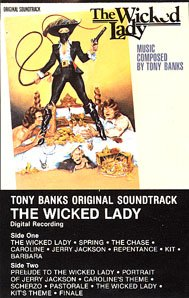 The Wicked Lady - Original Soundtrack, Tony Banks OST Tape/CD